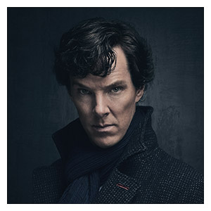 Sherlock BBC. Размер: 60 х 60 см
